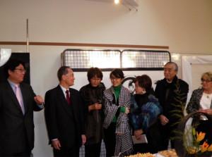 フランス サンシール トゥール 展示会 書道 calligraphy france exhibition