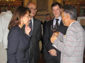 ESMOD PARIS 展示 エスモード レセプション 書作品 丸山茜葉 フランス