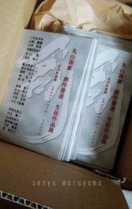 創作 書道 生徒展 芝田町画廊 9月22日 丸山茜葉 書家 大阪 DM 奈良 神戸 京都